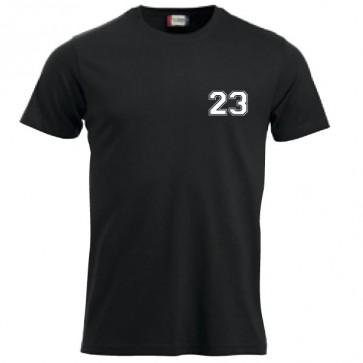 T-shirt Noir Coupe Unisexe