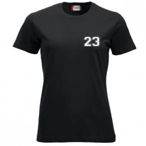 T-shirt Noir Coupe Femme