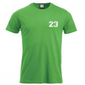T-shirt Vert Coupe Unisexe
