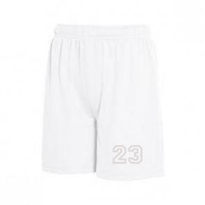 Short sport Blanc